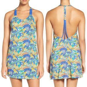 Maaji Bloom Bastic T-Back Cover-Up Dress - NEW